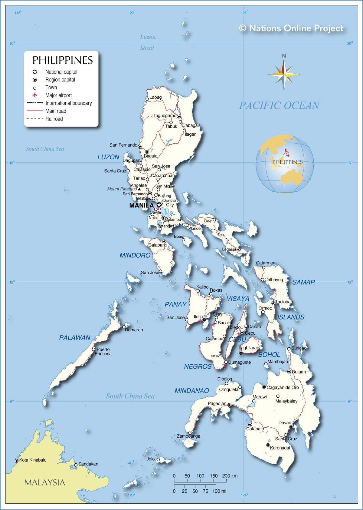 Map of the philippines amazing philippines pinterest map of the philippines gumiabroncs Image collections