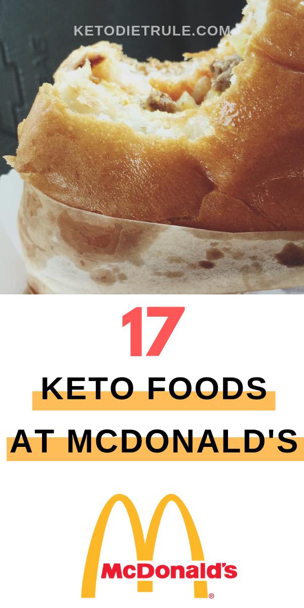 Keto McDonald's: 17 Low-Carb Food Options on the McDonald's Menu