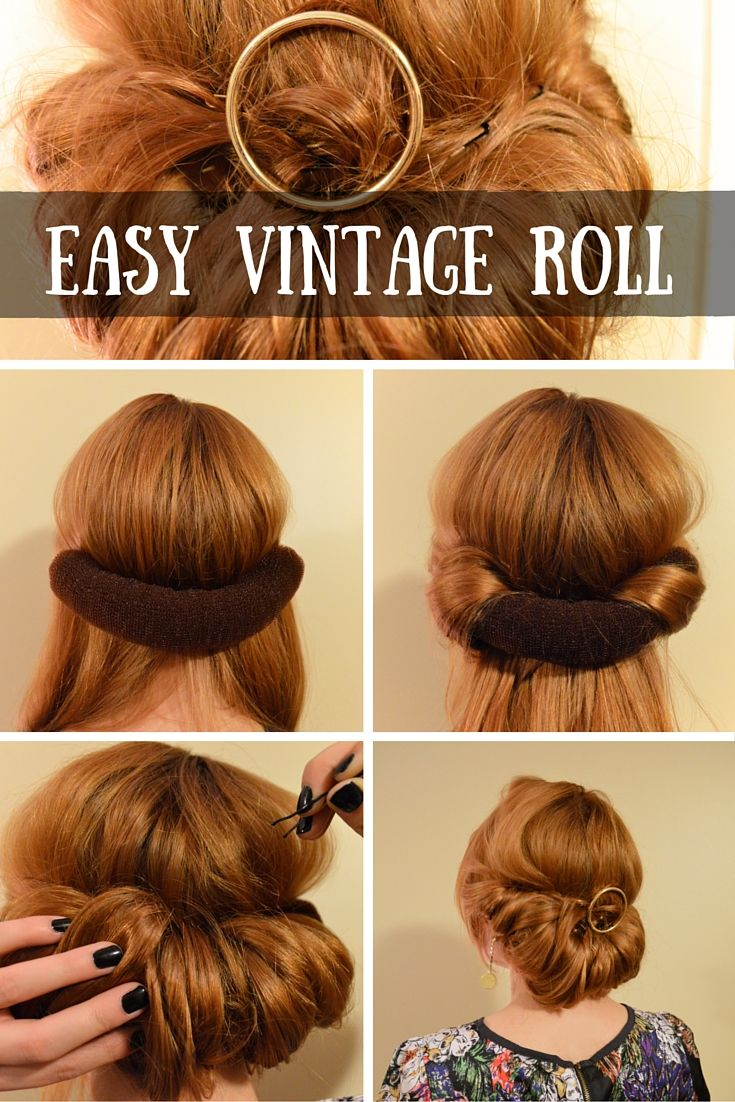 Easy conair vintage roll beauty pinterest easy vintage and