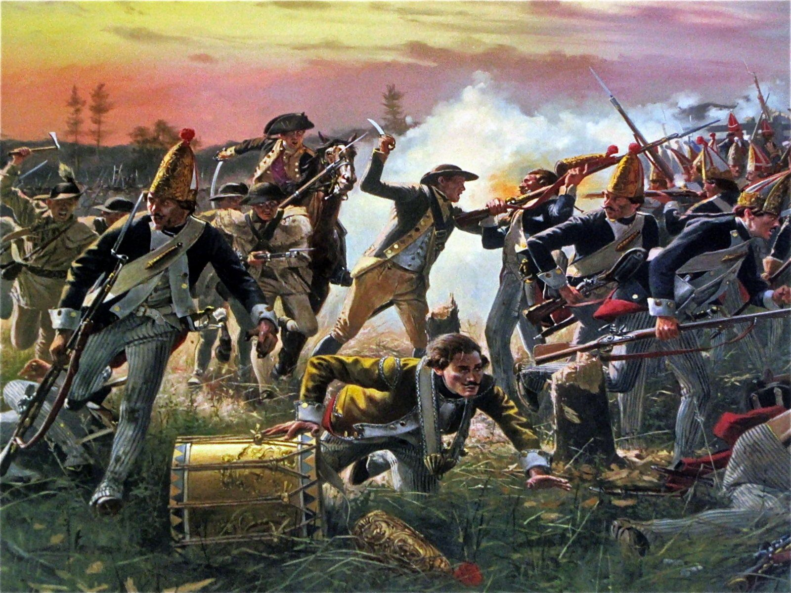 Breyman S Redoubt Battle Of Saratoga