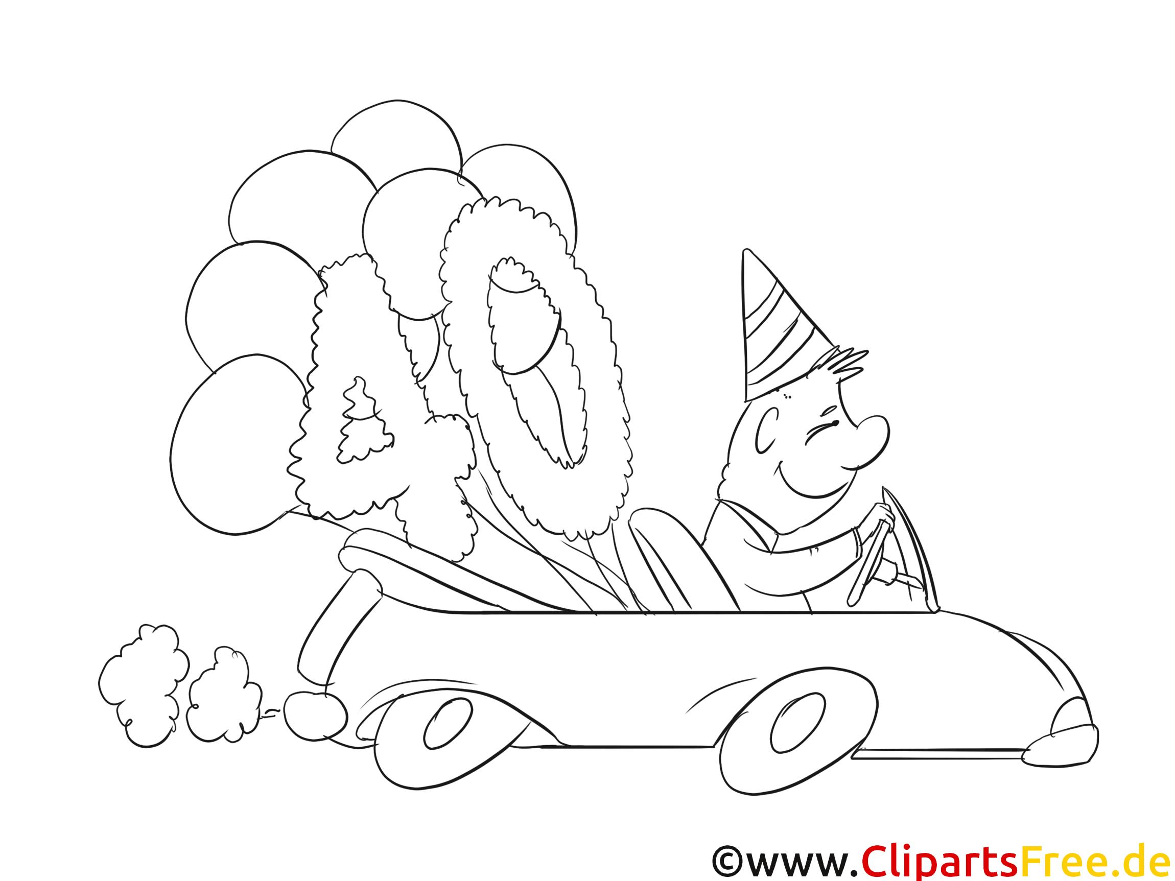 Bild Zum 40 Geburtstag Zum Ausmalen Bilder 40 Geburtstag Geburtstag Bilder Ausmalen