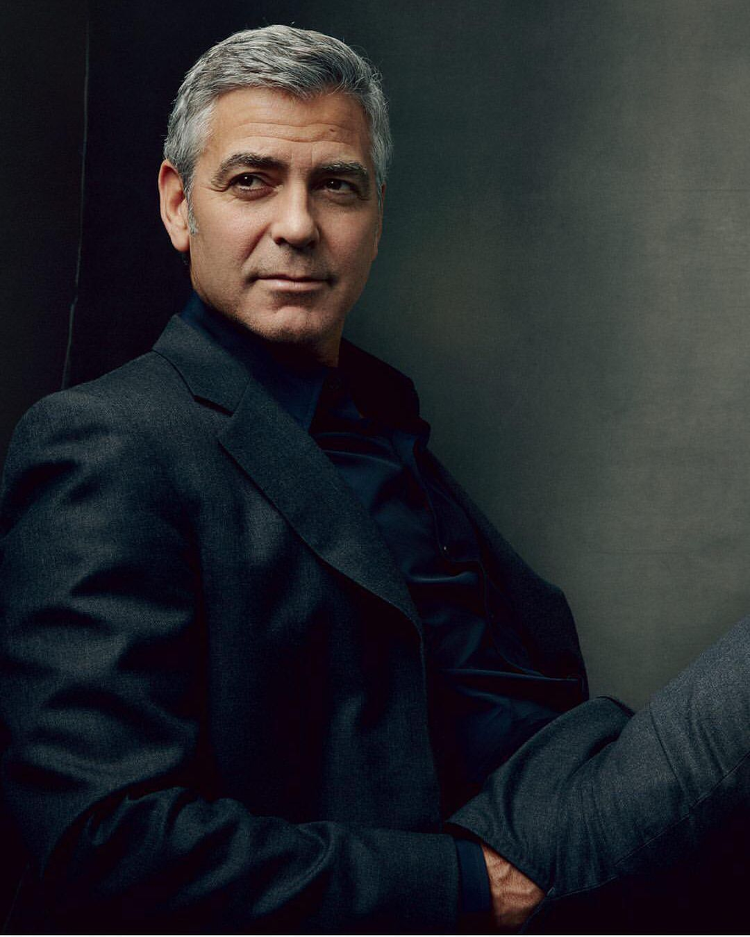 The Gorgeous George Clooney has a Colostomy bag