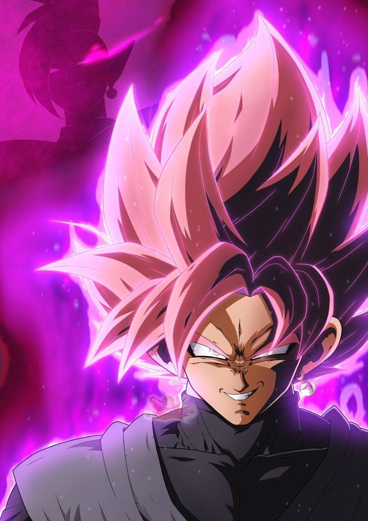 Goku Black Super Saiyan Rose By Smartimus Prime Dragon Ball Super Artwork Anime Dragon Ball Super Dragon Ball Wallpaper Iphone