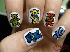 grateful dead nails - Google Search