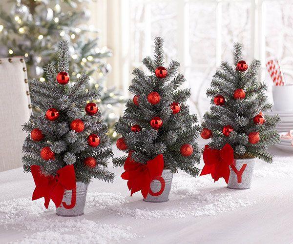 Christmas Table Top Decor | Christmas Decor | Pinterest | Christmas ...