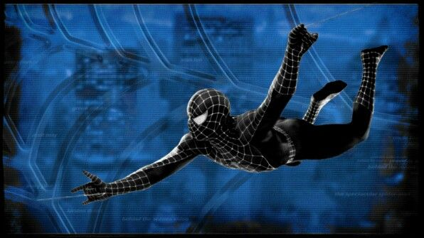 The Black Suited Spiderman Spiderman 3 Wallpapers Trl Arana Negra Hombre Arana Spiderman