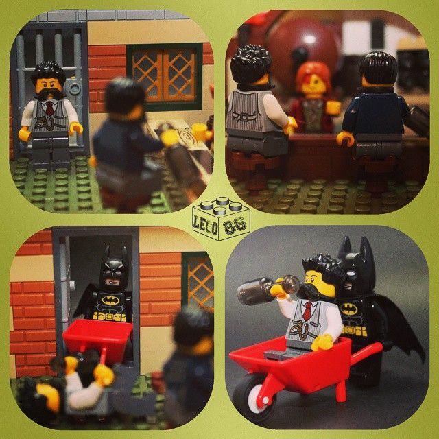 comicdetours came to visit my pub. #lego #pub #batman #legobatman ...