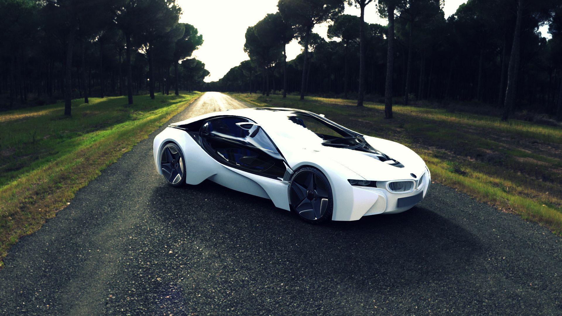 Bmw I8 Concept Sports Car Wallpaper Bmw I8 Bmw Wallpapers