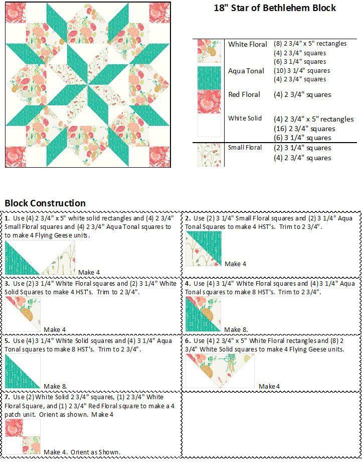 swoon quilt pattern free - Pesquisa Google | Ivana Machado ... : star quilt patterns instructions - Adamdwight.com