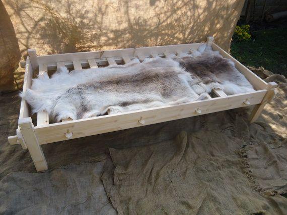 Viking Slat Frame For Single Bed Osberg By Backinthedayreenact