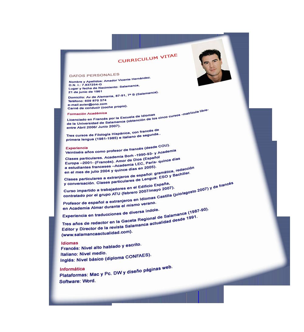 Como se acomoda un Curriculum Vitae | Exito y Deberes