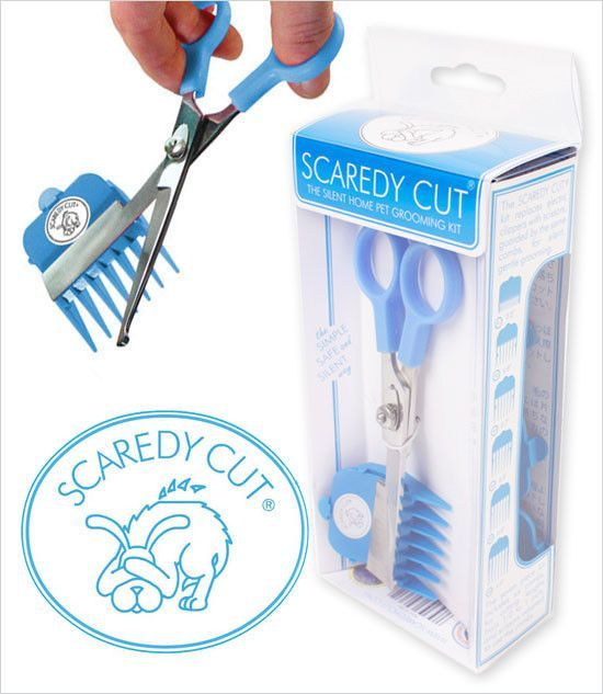Scaredy Cut Home Pet Grooming Kit Cuttings And Dog