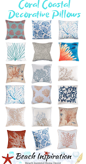 50 Coastal Style Decorative Throw Pillows Home Decor