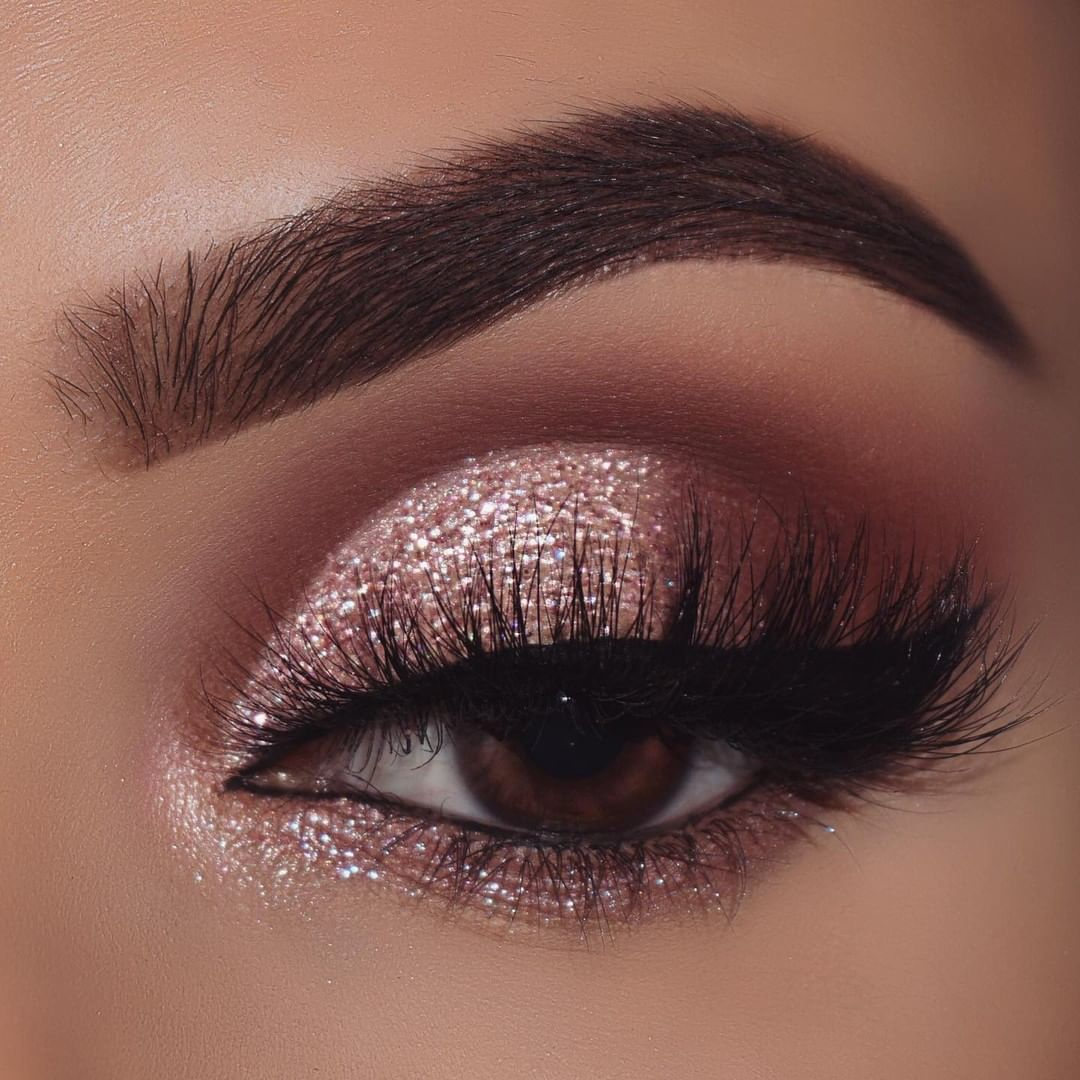 "ColourPop Cosmetics on Instagram: ""Colourpop is always here to bring the bling how many sparkles would you rate this gorgeous eye look! - Wearing: super shock eyeshadow in…"""