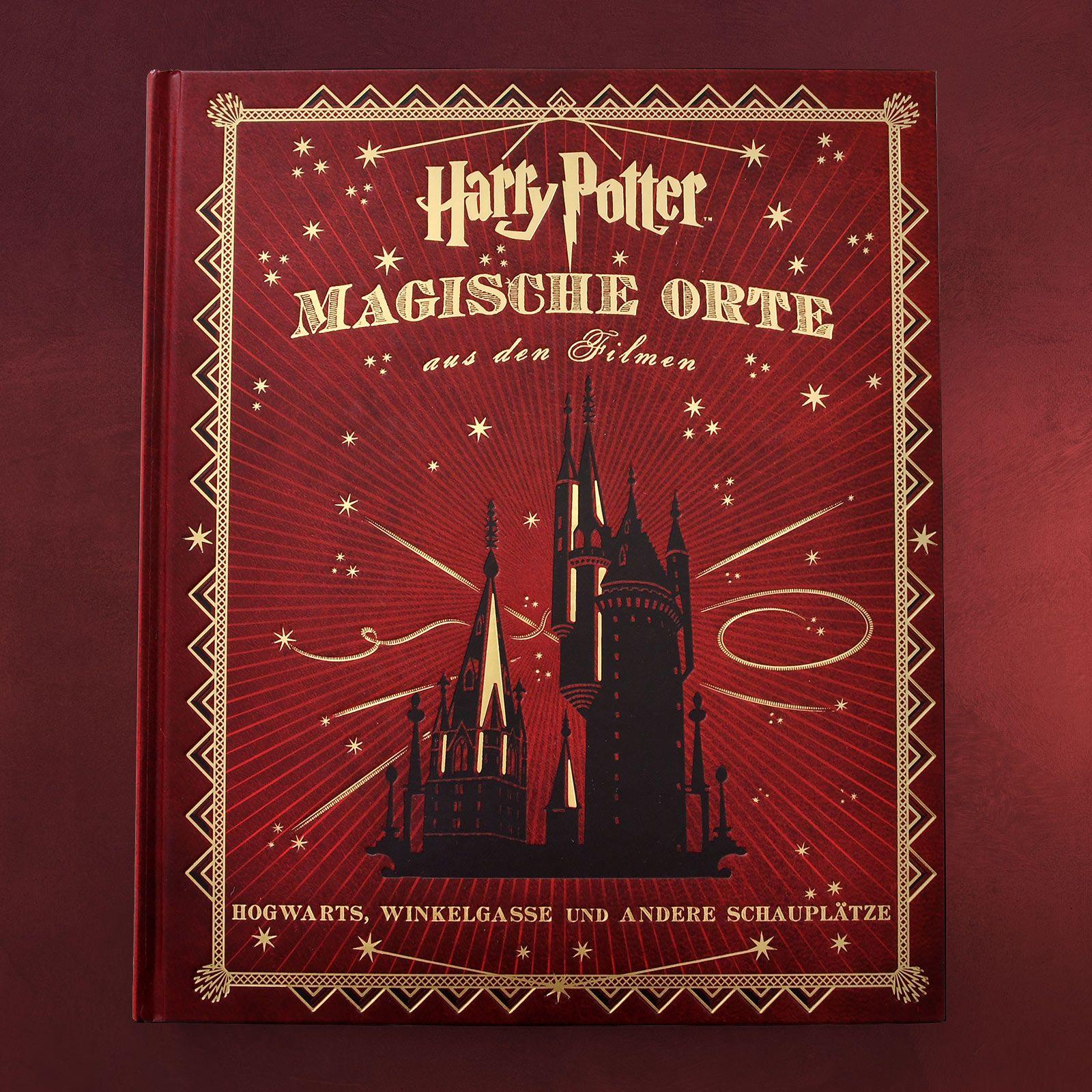 Harry Potter Magische Orte Hogwarts Diagon Alley Hardcover Book