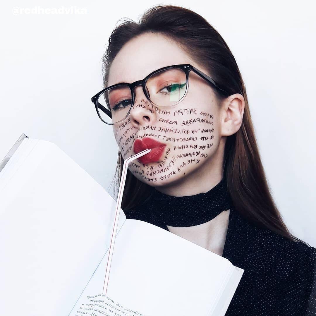 Креативные идеи для фото, необычный макияж, фотография в ...