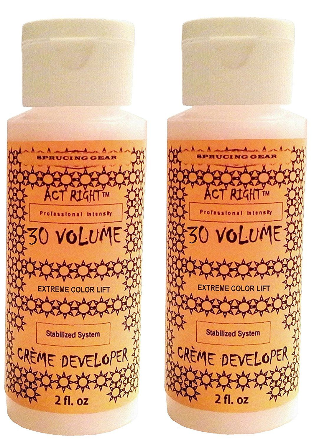 Act Right 30 Volume Extreme Lightening Hair Color Cream Developer 4 oz. (120 ml) -- Click image to review more details. (This is an Amazon affiliate link)