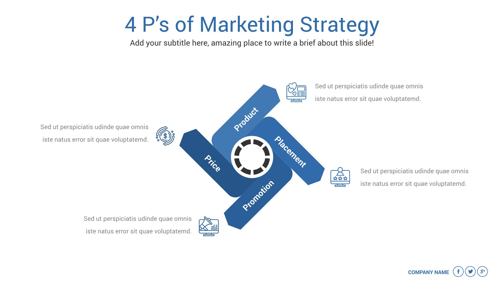 Marketing Plan Keynote Presentation Template Marketing Plan Template Marketing Plan Presentation Slides Templates