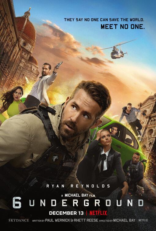 6 Underground 2019 Underground Film Michael Bay Ryan Reynolds