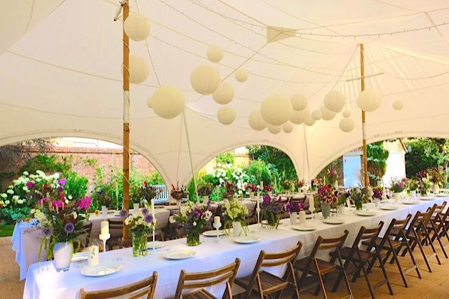Decorated capri marquee wedding and event tent inspiration decorated capri marquee junglespirit