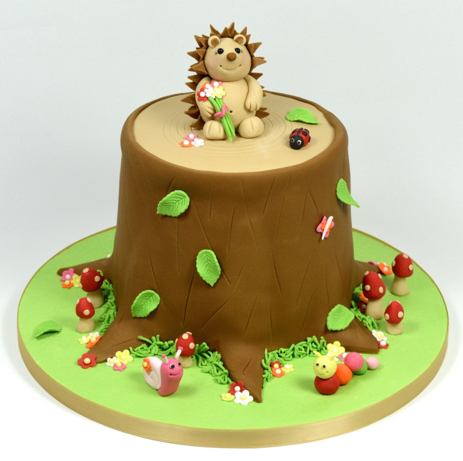 Cute Hedgehog Cake Cakes Hedgehog Cake Cake