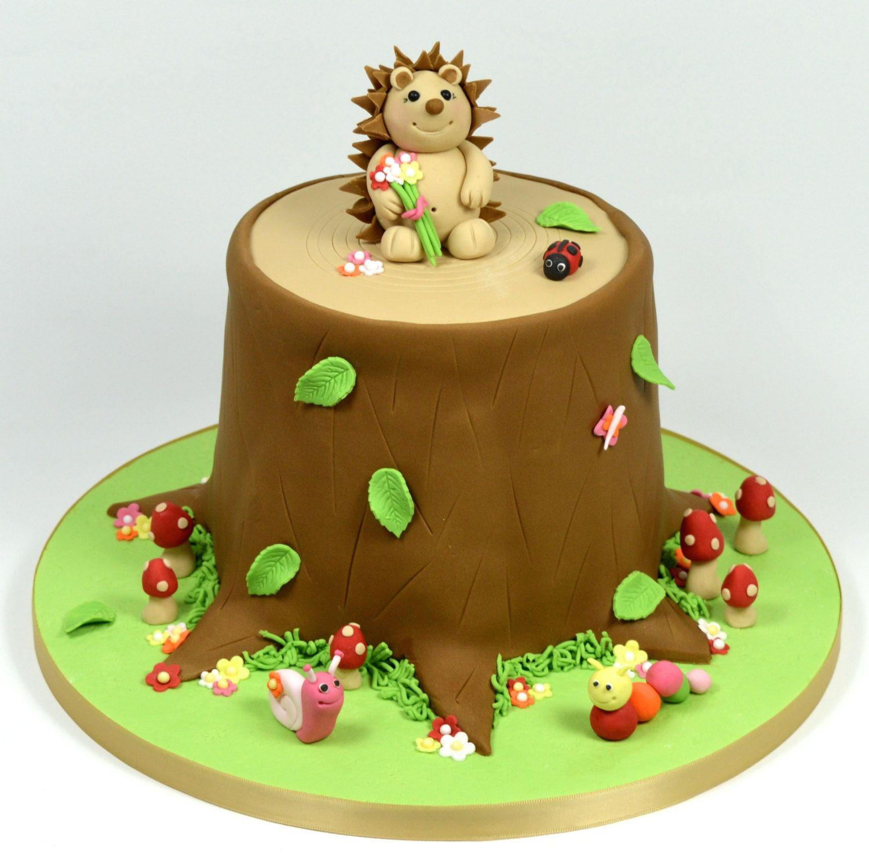 Cute hedgehog cake Motiv und Thementorten Pinterest