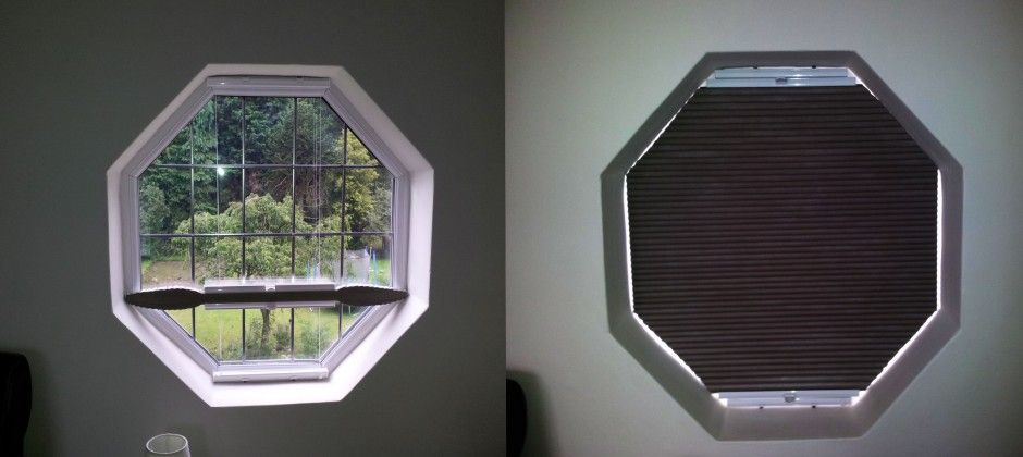Image Of Octagon Window Blinds Color With Images Octagon