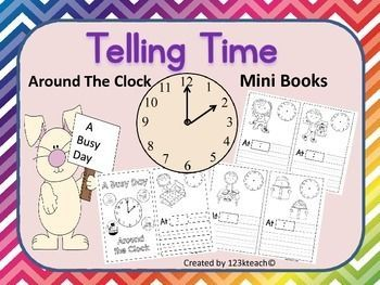 Students Will Tell Time As They Draw Hands On An Analog Clock And