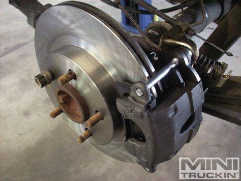 S10 Rear Disc Brake Conversion Bye Bye To Dumb Drums Chevy S10