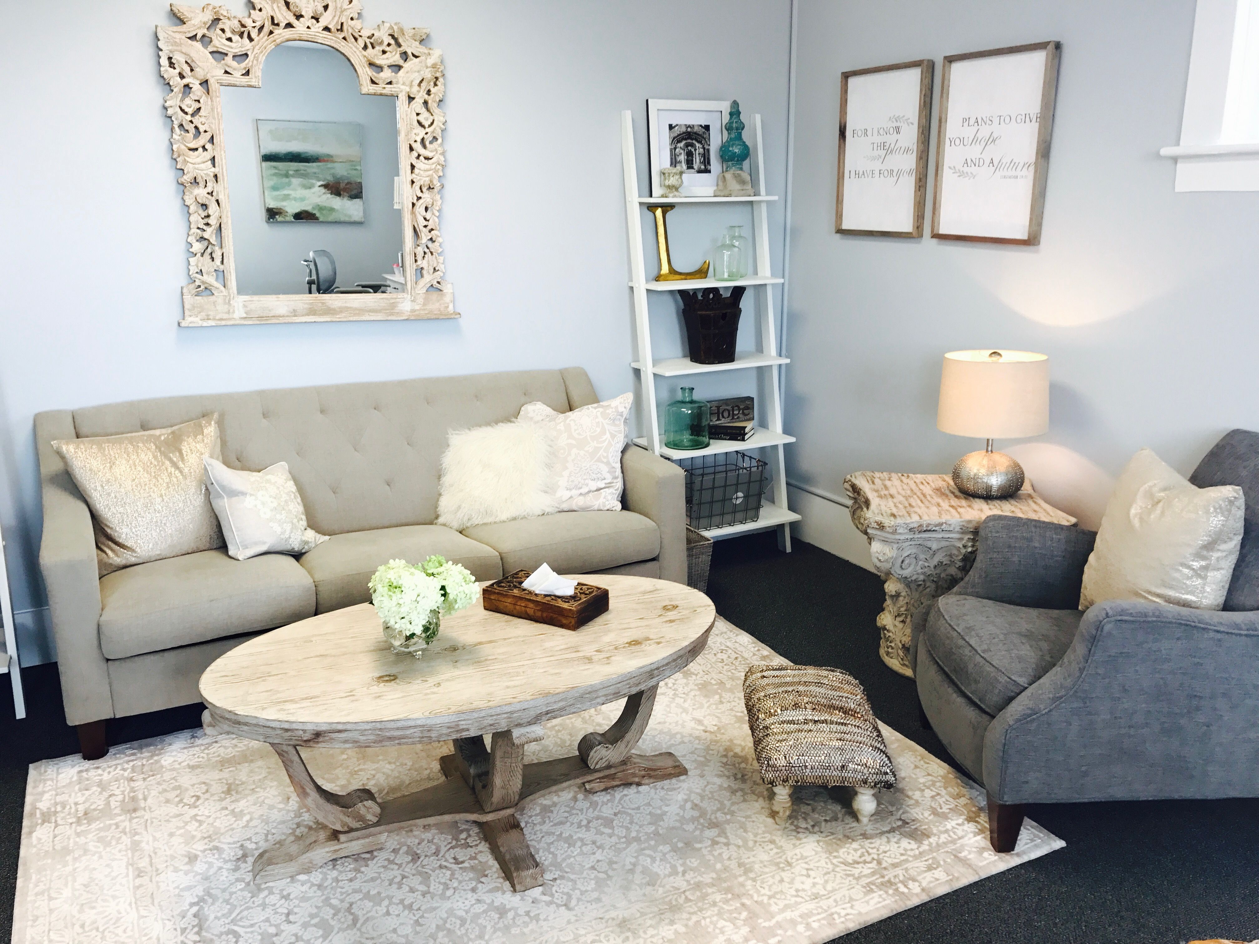 Designing a Therapy Office | Office | Pinterest | Therapy, Private ...