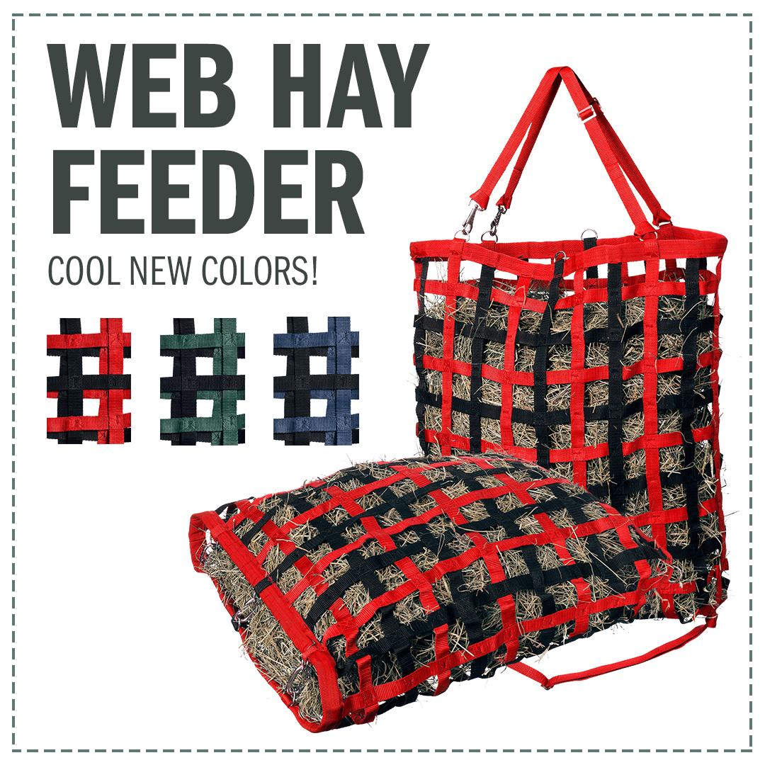 Tough-1 Web Hay Slow Feeder Red
