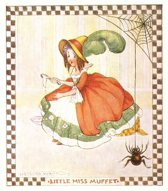 "Flora White, from ""Favourite Nursery Rhymes with variations"", J. Salmon Ltd., undated."