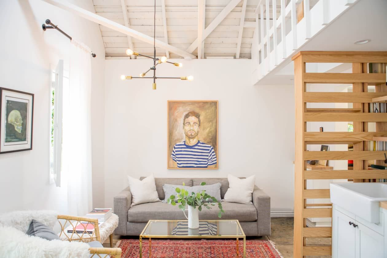 A 400-Square-Foot Total Redesign of a Former Dilapidated Detached Garage #beachcottagestyle