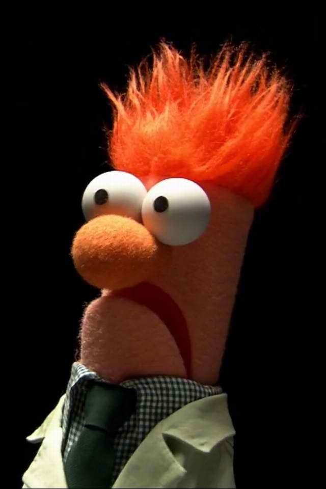 "Beaker....""Meep"" | Nostalgia | The muppet show, Funny ..."