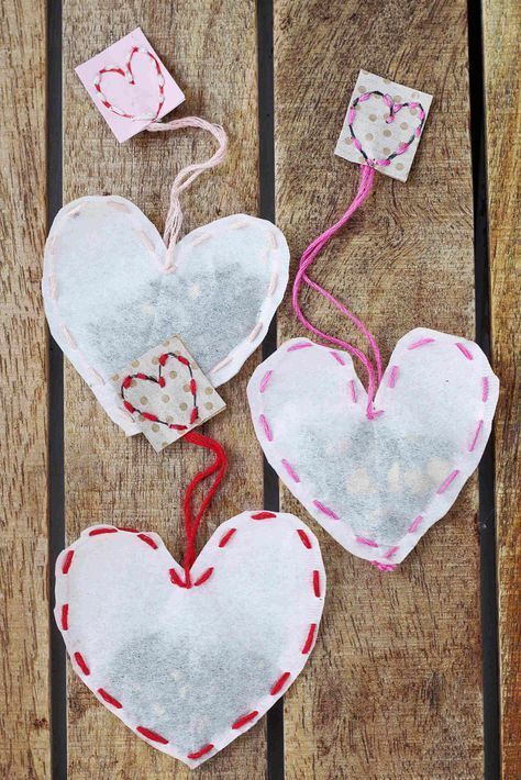 Photo of Make tea bags yourself: creative DIY gift idea