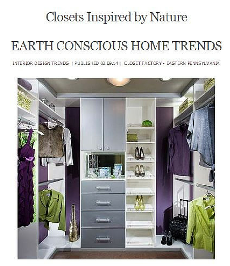 Closets Inspired By Nature Custom Closet Design Closet Designs Closet Design
