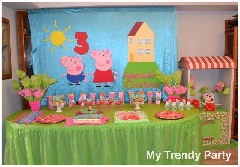 Fiesta Peppa Pig Pepita Peppa Pig Pig Party Y Birthday