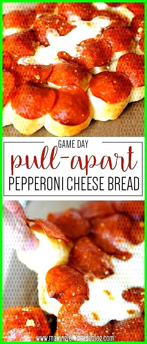 OMG this game day pull-apart pepperoni cheese bread look AMAZING! Making this fo... - pinbeauty-