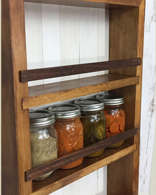 The Mansfield Apothecary Cabinet Handmade Wall Or Counter Cabinet Wood And Spool Kitchen Remodel Layout Kitchen Cabinet Remodel Kitchen Remodel Small