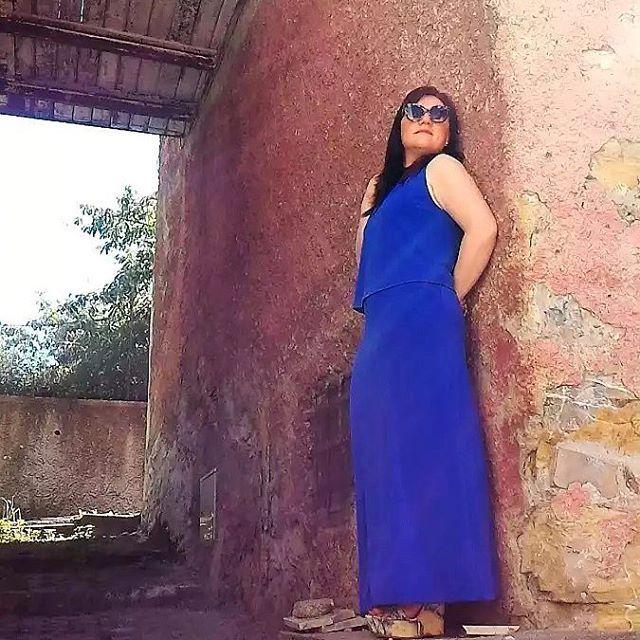 Un abito blu come il cielo destate la stagione pihellip
