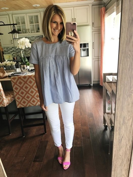 47 Cute Spring And Summer Outfit Ideas With Flat Shoes