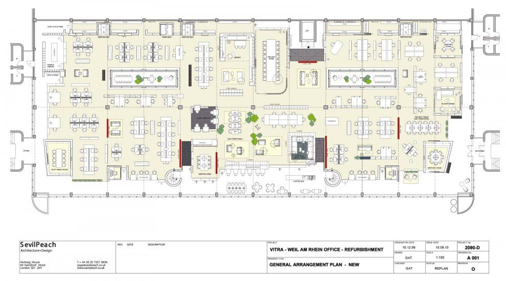 Pictures vitra citizen office floor plan architizer for New office layout design