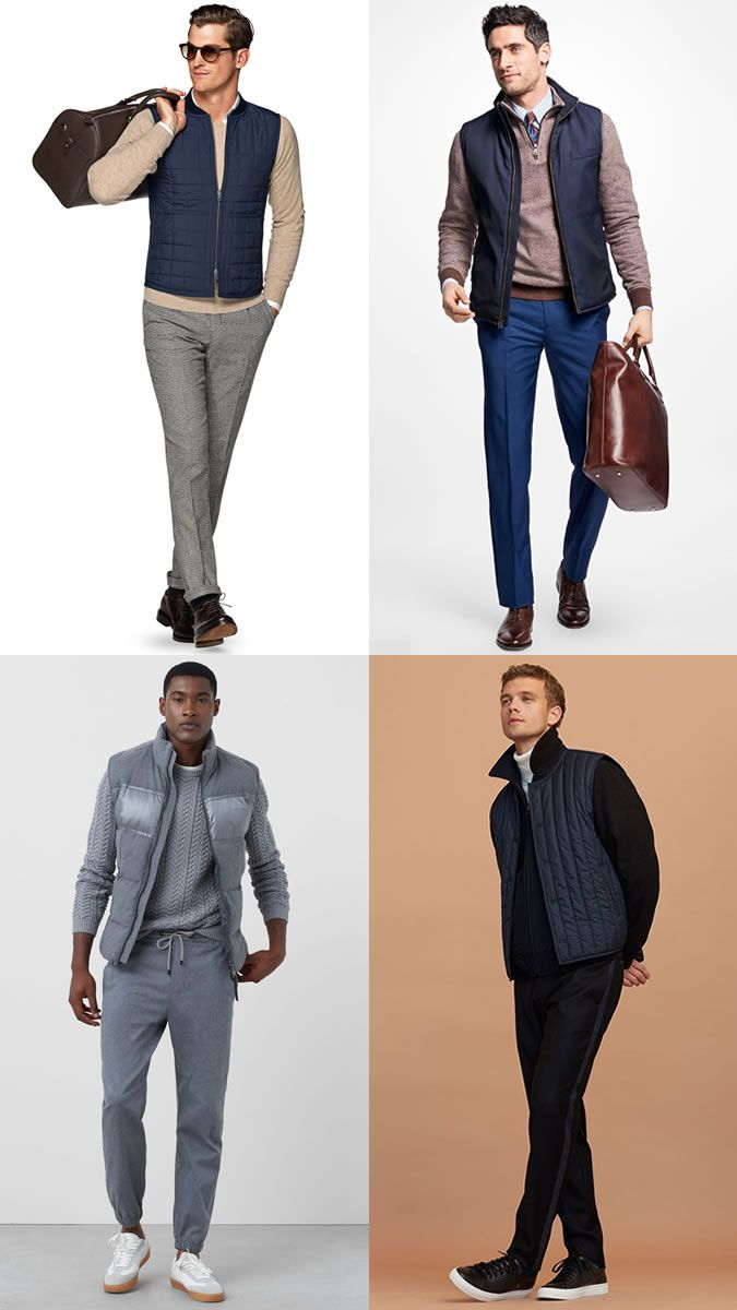 c051579c8be7 Men s Gilets and Bodywarmers in Autumn Winter Outfit Inspiration ...