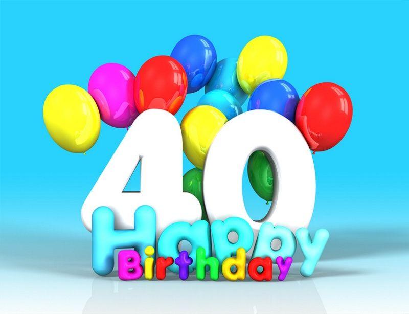 Fare gli auguri di buon compleanno ad una persona che compie 40