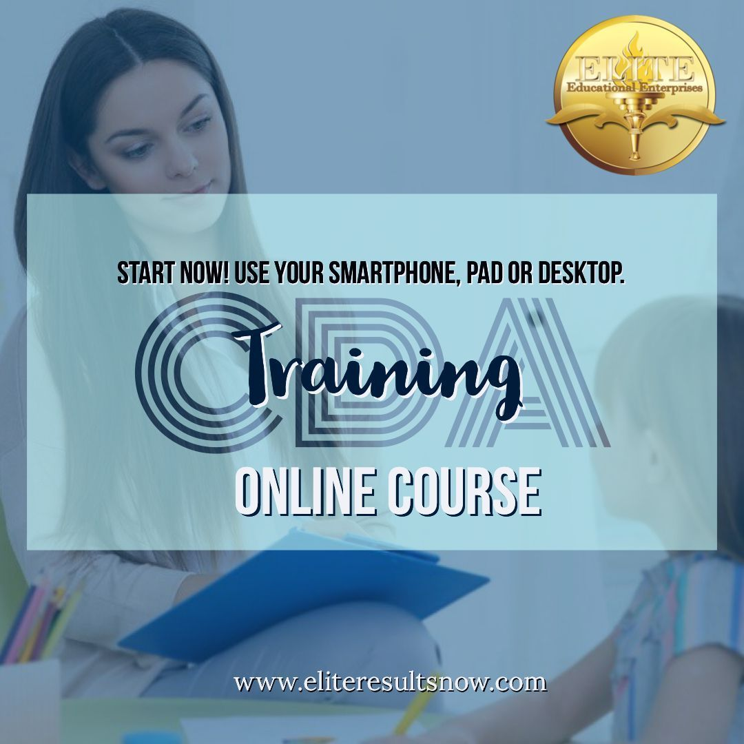 CDA Online Training in 2020
