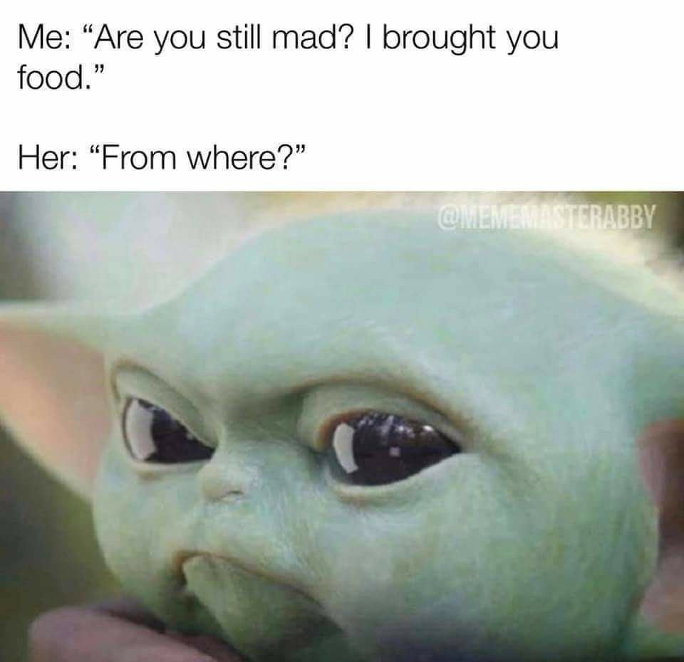 Pin By Carla Chipman On Baby Yoda Memes Best Friends Latinas Be Like