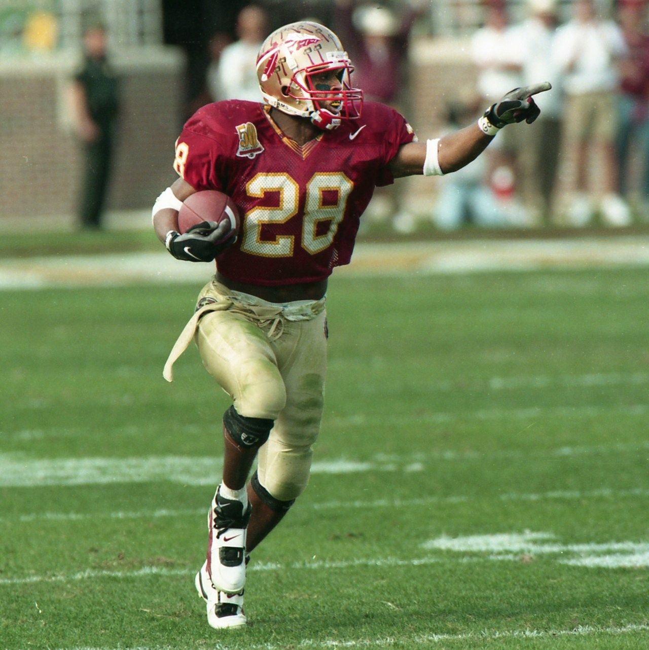 Warrick Dunn Florida State Seminoles Fsu Football Football Florida State Football