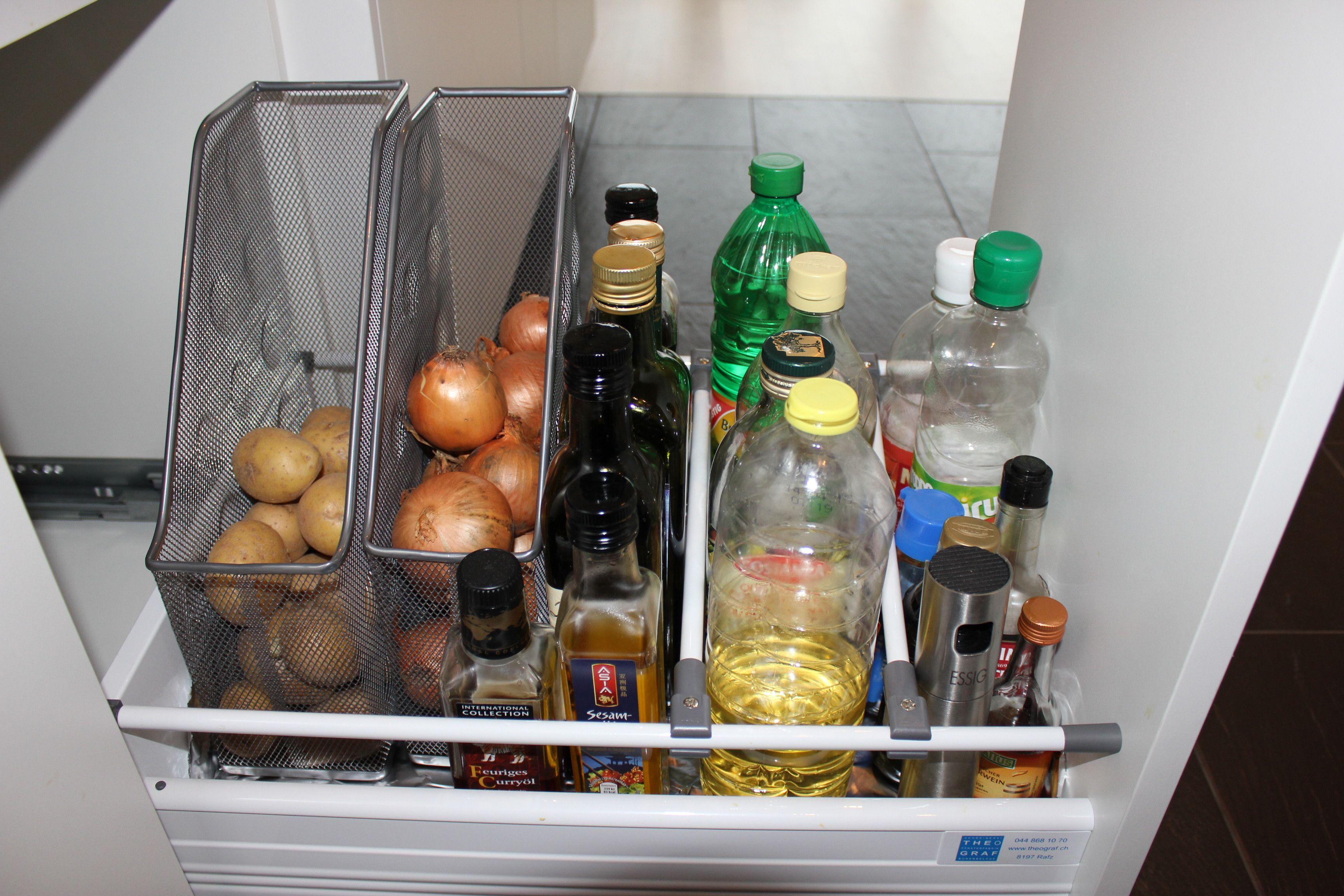 Kitchen Storage | Low-tech but highly functional | Kartoffeln und ...