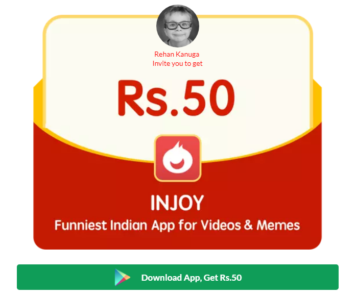 Earn free cash easily on Injoy App  Join interesting rewards