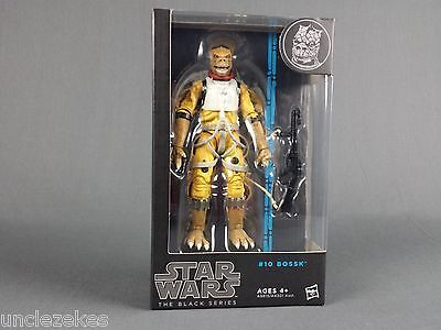 Star Wars Black Series #10 BOSSK 6 Inch Action Figure Wave 8